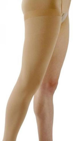 thigh high open toe compression garments
